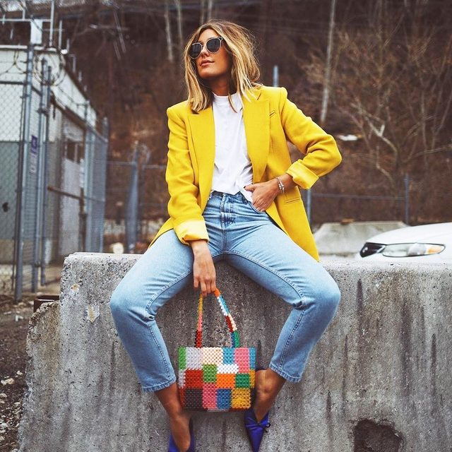 Waiting for the long weekend...💛#yellow #friday #nyfw