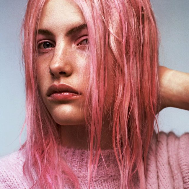 Pretty in Punk: Can you match your hair to your makeup and clothes? Experts weigh in on the right way to think pink at the link in bio. - Photography: @lena_c_emery  Hair: @markhamptonhair Make Up: @ciaradoesmakeup  Styling: @katieburnettstylist  W magazine, Vol. 1 2019