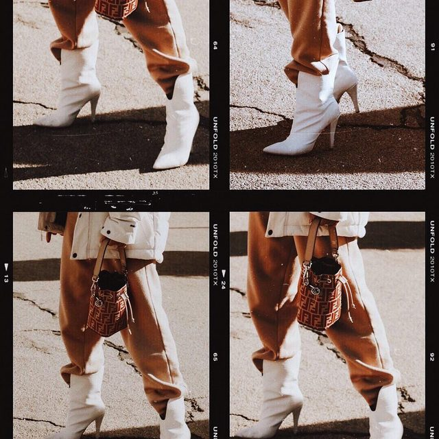 White hot💥 @misssalinas in the Austine Bootie #rayeallday