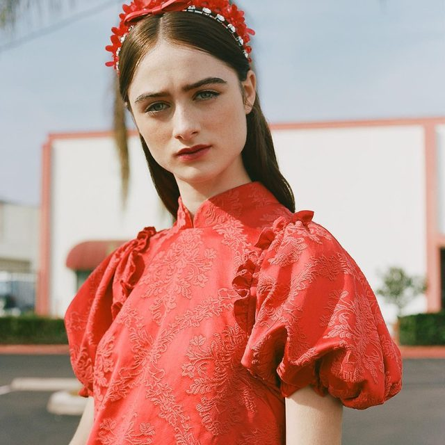 "Raffey Cassidy is already making a name for herself on the big screen. Is fashion next? ""Central Saint Martins would be a dream."" For the moment, Cassidy sews her own clothes and is collaborating with her older sister on a dress for their mother. ""I'm aiming high!"" Meet the 16-year-old 'Vox Lux' star with style and substance at the link in bio. - Photography: @jeffhenny Styling: @emmawyman W magazine, Vol. I 2019"