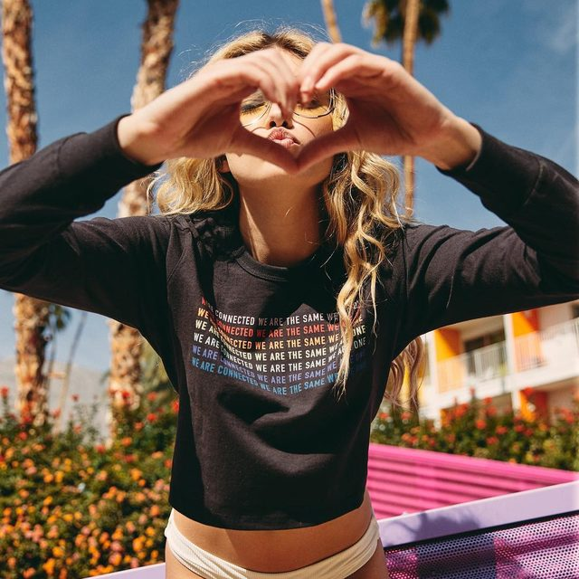 The future is OURS ❤️🙌 Link in bio to shop new graphics #weareone #spiritualgangster