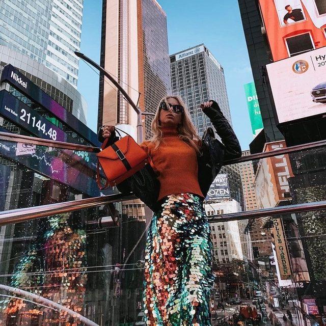 WE ❤️ NYC! @virginiavarinelli #madeinnyc