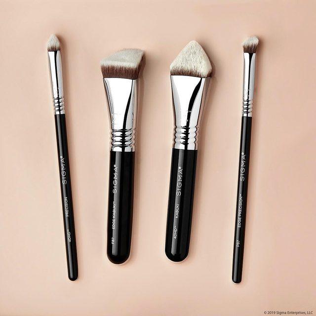 F87 Edge Kabuki Brush by Sigma #13