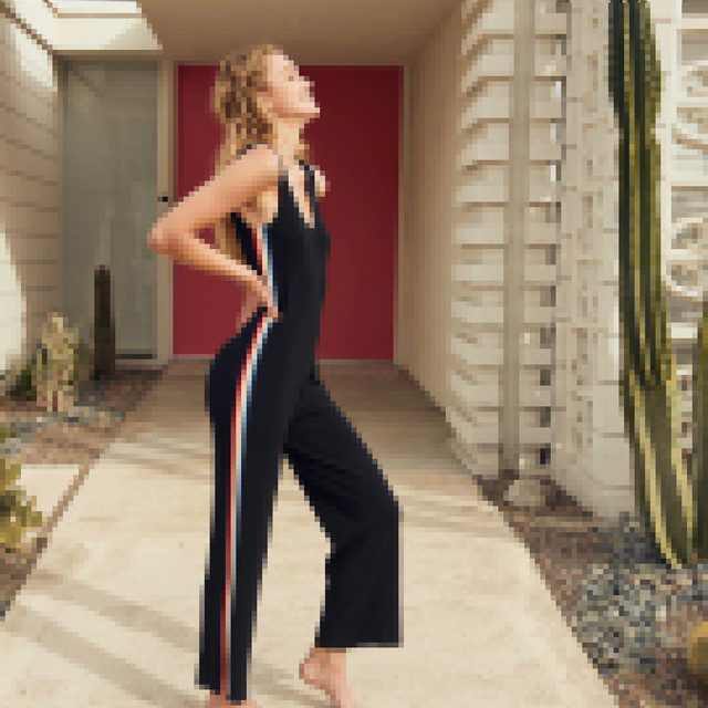 Be the reason someone smiles today ☀️🌈 Link in bio to find your new favorite jumpsuit #sundayvibes #springforward #raiseyourvibration