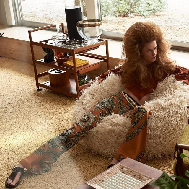 Legendary fashion editor Grace Coddington conjures a world in which domestic ennui has never looked more chic. - Model: @riannevanrompaey Photography: @craigmcdeanstudio Styling: @therealgracecoddington Hair: @orlandopita Make Up: @francelledaly  W magazine, Vol. II 2019