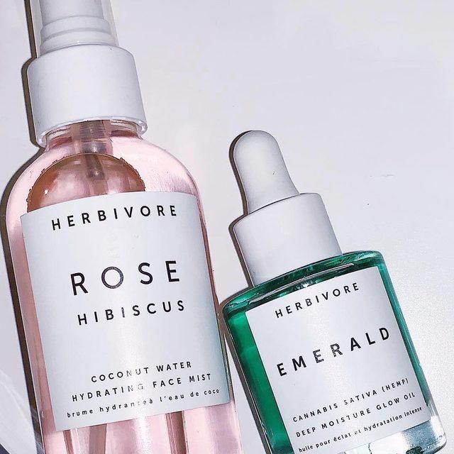 Rose Hibiscus Hydrating Face Mist Herbivore Botanicals