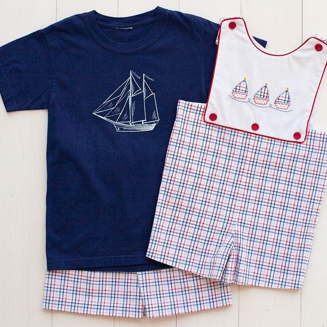Are your little ones ready for the upcoming holidays?  We have all the red, white, & blue to cover every age. Shop the link in our profile. ⛵