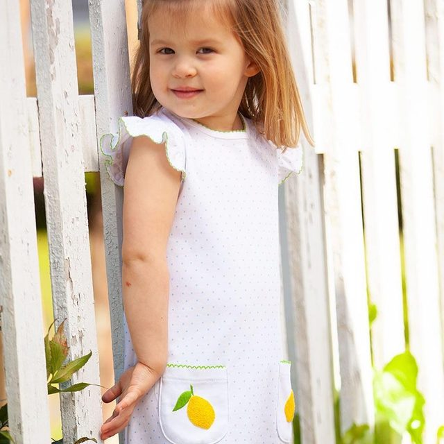 Your little girl will be lemony fresh in these darling pieces by @PippaLayette. Shop these sweet styles through the link in our profile and head on over and check out the rest of their sweet releases. Limited stock 🍋🍋