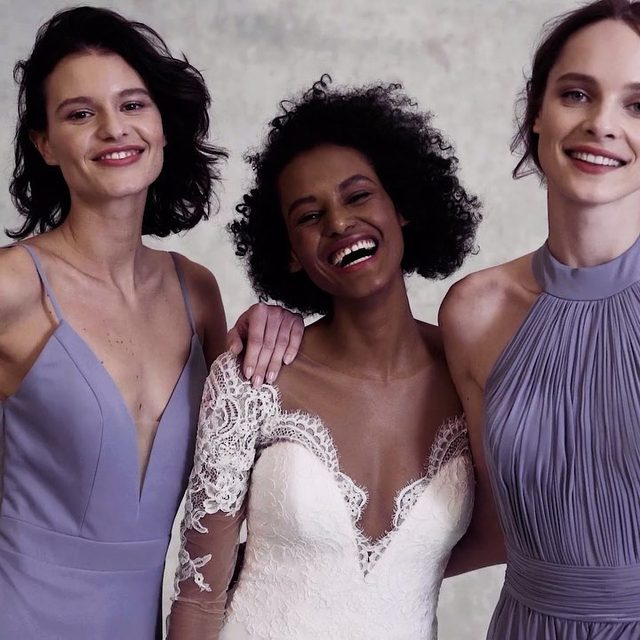 Picture perfect styles for the entire bridal party (even the bride!) ✨ 💍 Shop in bio @kleinfeldbridalparty