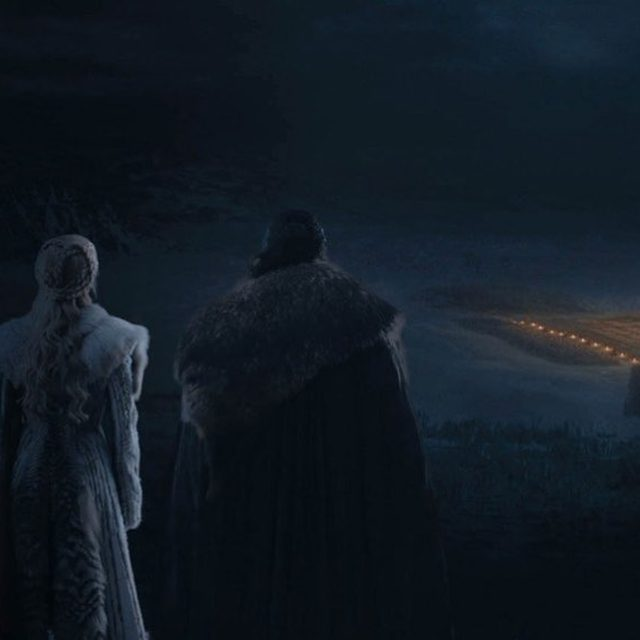 """This week's episode of """"Game of Thrones"""" was . . . dark. In the days leading up to the undead apocalypse at Winterfell, many of us wrestled with which characters we were willing to lose. If you didn't watch (or couldn't see), tap the link in the bio to read our weekly recap.  Photograph courtesy of HBO"""