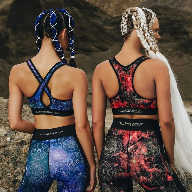 Are you team Rebel Alliance, or team Galactic Empire? The I am the Rebellion collection drops at 7am AEST Tues May 7. #blackmilkactive #blackmilkclothing #starwars