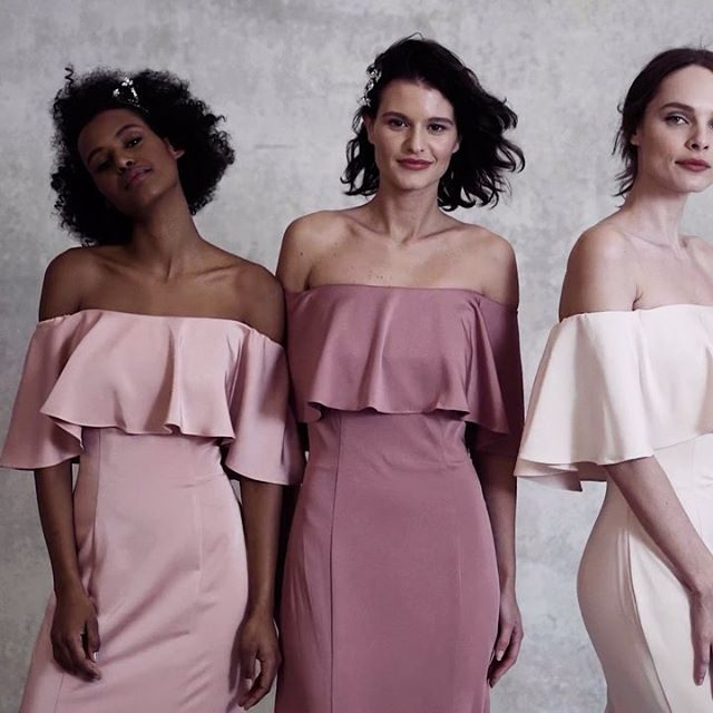 Pinks or blues? 💗💙✨ #bridesmaiddresses