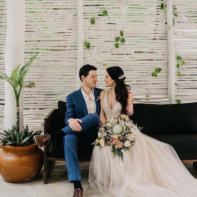 """You don't find love, it finds you. It's got a little bit to do with destiny, fate and what's written in the stars."" – Anaïs Nin (tap to shop the Written In The Stars Gown 