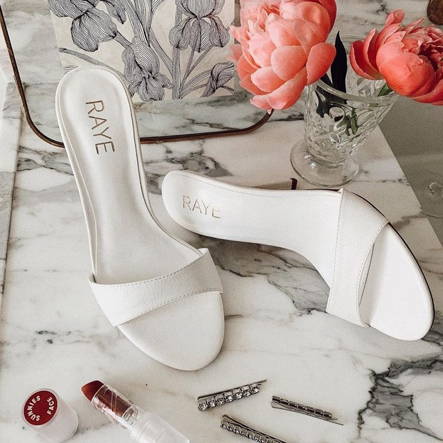 Mondays aren't so bad. Shop the Cocktail heel. #rayeallday