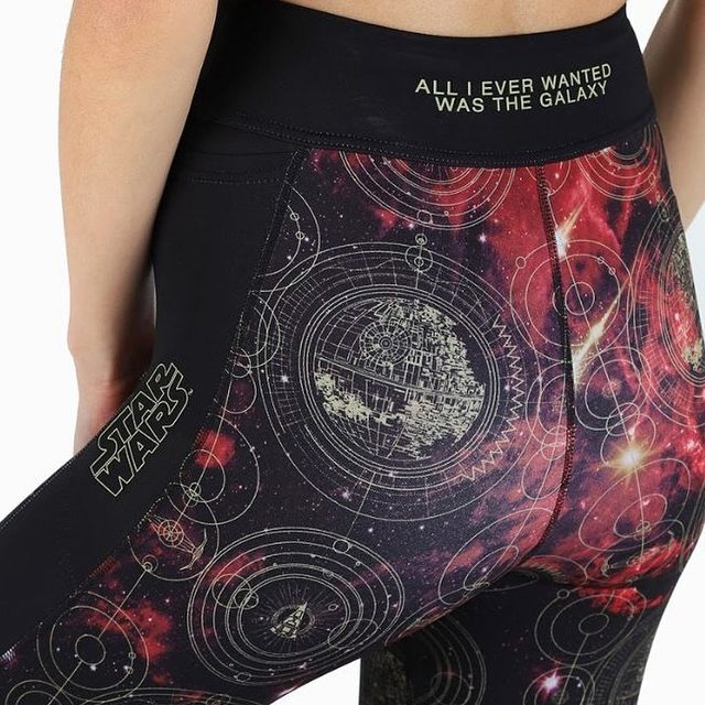 All I ever wanted was the galaxy. Head to our website to shop the Star Wars Activewear range! #blackmilkactive #blackmilkclothing #starwars