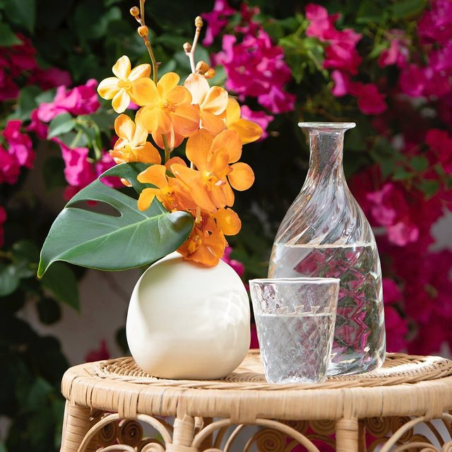 I love to add a pop of color to any space with our modern yet timeless vases. Visit the link in bio to explore all of our vase offerings #AERINhome