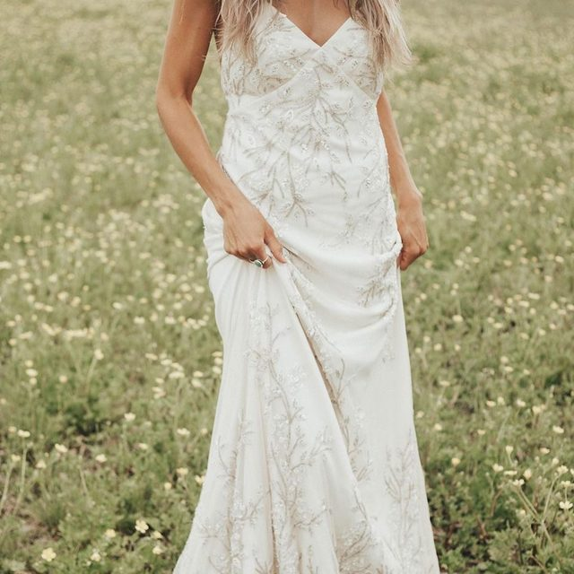 @taylornicolehayden is a bohemian MUSE in our Essen Gown!🌼(tap to shop the look) 📷: @taylornicolehayden