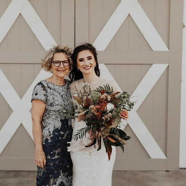THANK YOU to all the mommas who help make the #BHLDNBride dreams come true! (tap to shop the Santiago Dress & Naomi Gown) #regram: @hannahclairerodriguez