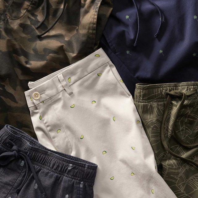 Printed shorts? We'll take one of each.