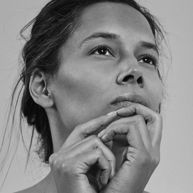 """Rhiannon Giddens is a singer, a songwriter, a multi-instrumentalist, and even something of a historian, whose work reflects both the universality of folk music and the specific tradition of black American string-band music. Her multicultural background—black, white, Native American, and American—presents a particular challenge of self-definition: she is an artist of color who plays what she describes as """"black non-black music"""" for mainly white audiences. Still, she has been unwilling to compromise her quest to remind people that string-band music is, in fact, black music. Tap the link in our bio to read John Jeremiah Sullivan on Rhiannon Giddens and the evolving legacy of the black string band. Photograph by @paolakudacki for The New Yorker."""