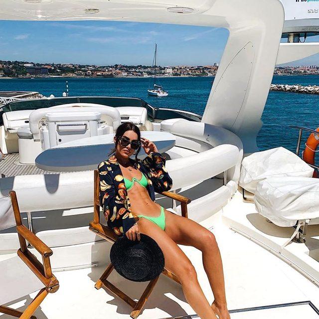 captain camila ⚓️ @camilacoelho wearing @loversfriendsla The Feels bikini & @songofstyle blazer top - tap image to shop! #revolvearoundtheworld #songofstyle