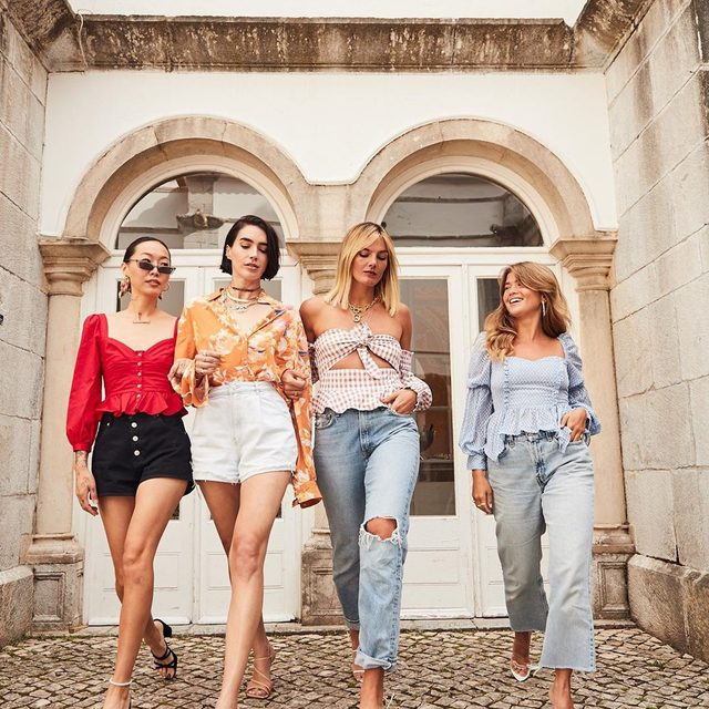 which @songofstyle top is your fave? 👯♀️👯♀️ @songdani @brittanyxavier @tezza @matildadjerf #songofstyle #revolvearoundtheworld