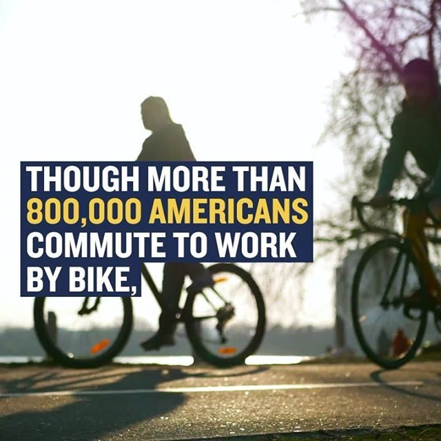Happy #BiketoWorkDay! 🚴♀️🚴♂️ Every time you bike to work, you're joining millions around the world who help reduce climate-damaging carbon emissions by not burning fuel—plus you're also getting a healthy dose of exercise. Starting a bike-to-work habit may seem daunting, but the trick is to start out slow, biking once per week and adding more days as your comfort level increases. Call on your leaders to invest in bike-friendly streets and join your local bike advocacy group: It's a win-win for the planet and your health. Learn more via the link in our profile! - #biketoworkday #biketoworkweek #rideyourbike #transportation #healthy #exercise