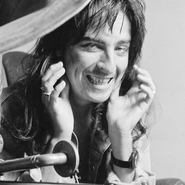 7 albums out today you should listen to now in the link in our bio. — 📷 of Alice Cooper in 1974, by Michael Putland/Hulton Archive/Getty Images