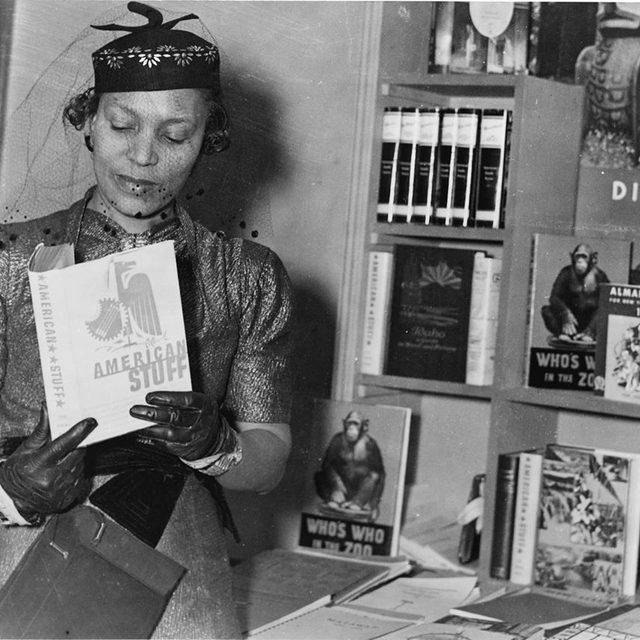 """""""What I got from Zora Neale Hurston is a tone of defiance. She said, I felt discriminated against, but I understand why people would deny themselves the pleasure of my company. It's just very unbothered. That was the kind of energy that I was trying to take in, and also just to pacify myself by thinking that I'm not in the wrong, or that I'm not black enough."""" Jamila Woods broke down every song on her new album named Best New Music for us. Read it in the link in our bio. — 📷 by PhotoQuest/Getty Images"""
