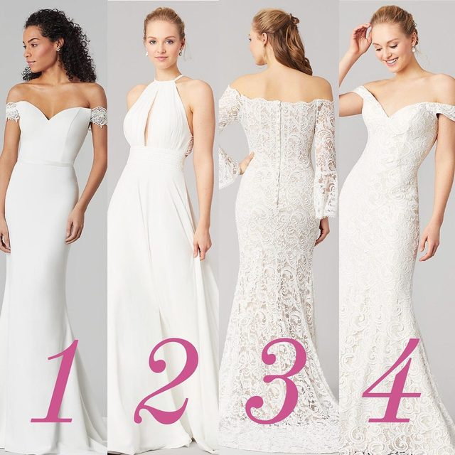 Which of these Kleinfeld Bridal Party exclusives is your favorite? And yes, these styles are under $999!