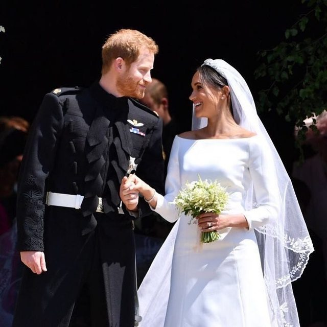One year ago today, Prince Harry married Meghan Markle while the world watched their fairytale unfold. Click the link in bio to see how the couple celebrated their first anniversary. 👰 🤵