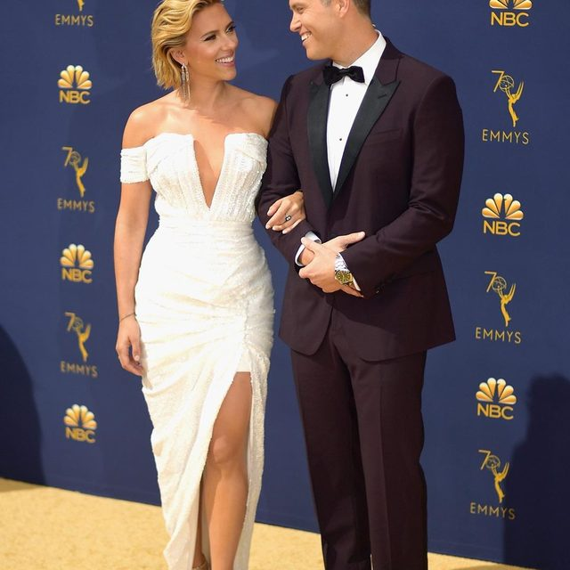 Scarlett Johansson and Colin Jost are officially Endgame! Link in bio for everything we know about their engagement. 💍(📷: Getty Images)