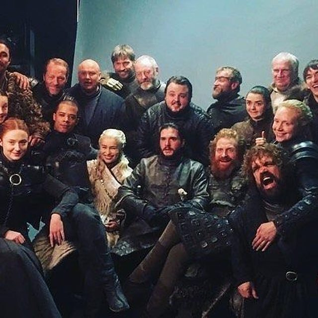 And now their watch has ended. 😭But we swear it by the old gods and the new that we will never stop talking about this show. Link in bio for everything you need to know about the #GameofThrones series finale. (📷: Getty Images)