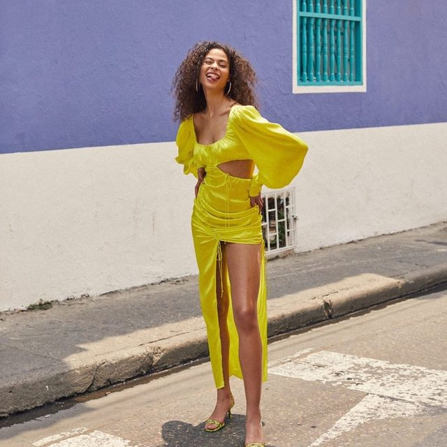 Radiant pieces for brilliant women |  Meringue Maxi Dress