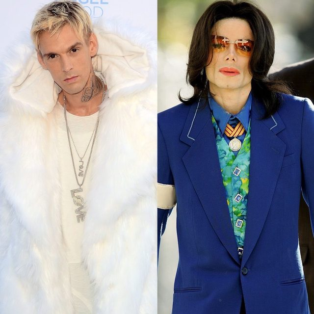"""The latest person speaking out about Michael Jackson: Aaron Carter. Link in bio for what he had to say about Jackson being """"inappropriate"""" when he stayed in his bedroom at 15. (📷: Getty Images)"""