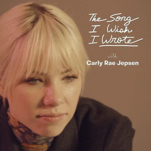"""In our new series Carly Rae Jepsen talks about the one song she wishes she wrote: Sinéad O'Connor's """"Nothing Compares 2 U"""" written by Prince. Watch the full video in the link in our bio."""