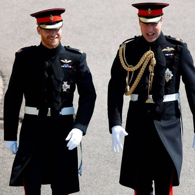 According to some, the Sussexes and the Cambridges seem to be locked into a game of one-upmanship, but there's a real battle that Prince Harry and Prince William are busy fighting every day—Link in bio. 👀 (📷: Getty Images)