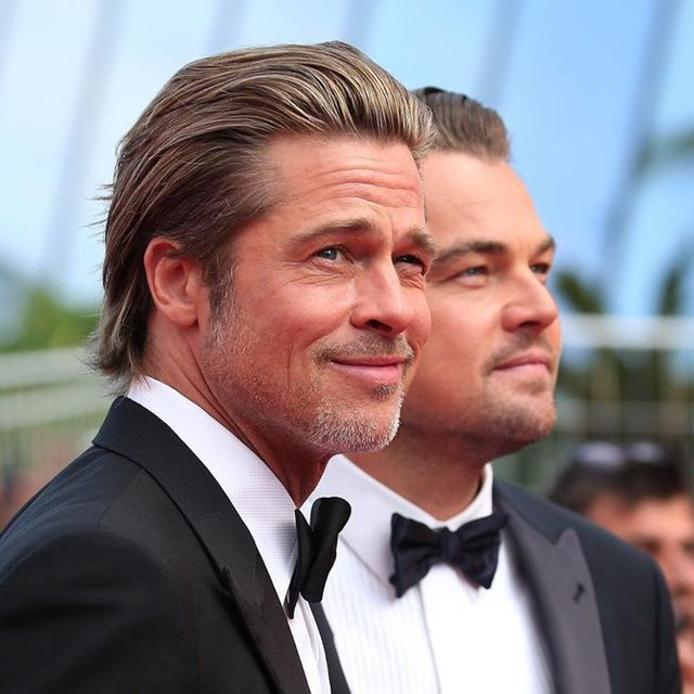 G2G. Calling in sick. If our boss doesn't understand what Leonardo DiCaprio & Brad Pitt just did to us, then we don't even owe them an explanation. *Turns out of office on*. #Cannes (📷: Getty Images)