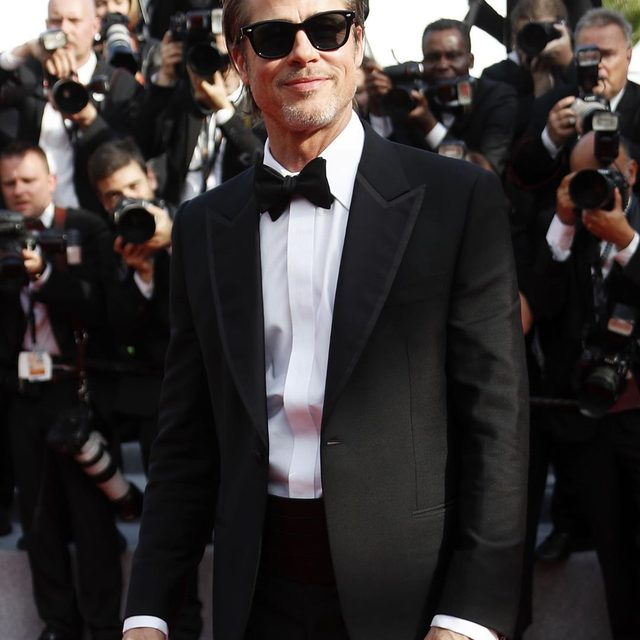 #1 rule about Brad Pitt attending #Cannes: Post all the photos of Brad Pitt attending Cannes. (📷: Getty Images)
