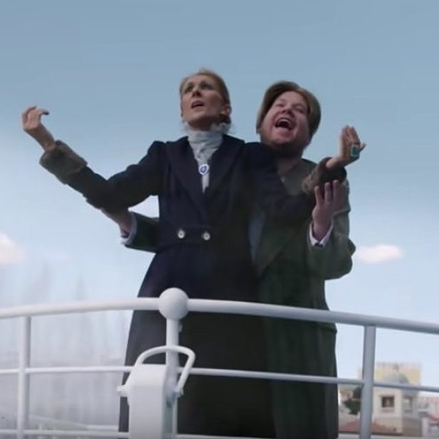 """Our hearts actually CAN'T go on after this carpool karaoke...Link in bio for the #Titanic reenactment and the dramatic """"Baby Shark"""" rendition that you'll never let go of. (📷: YouTube)"""