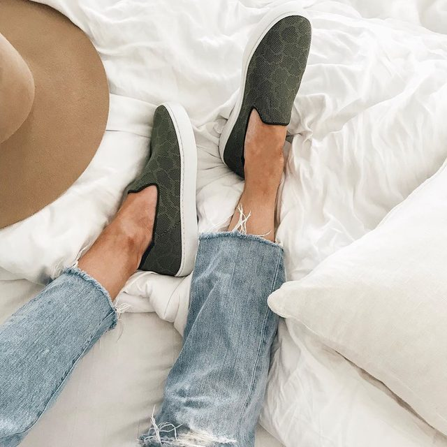 Take these comfy classics out for a spin. Or put them on the bed...it's up to you. 📷 @breanne.benton