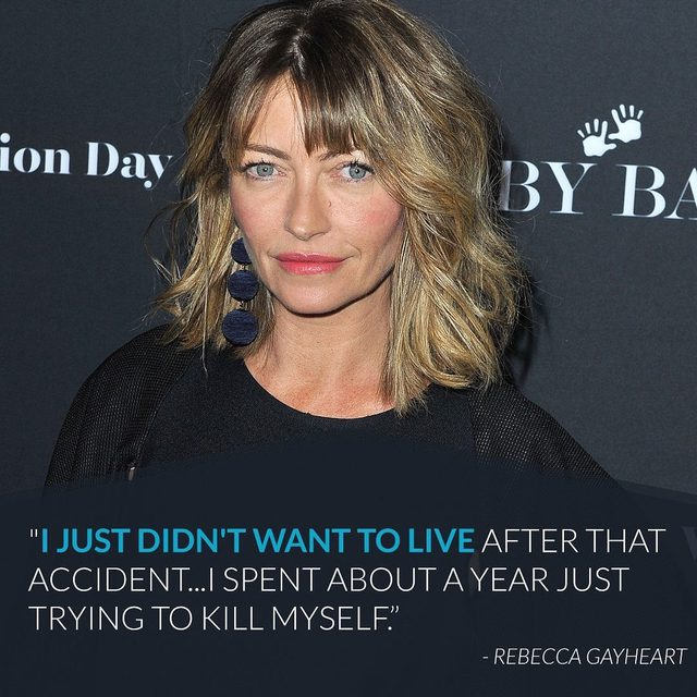 #OnceUponATimeInHollywood's Rebecca Gayheart reflected on the 2001 car accident she was in that left a young boy dead. Link in bio. 💔 (📷: Getty Images)