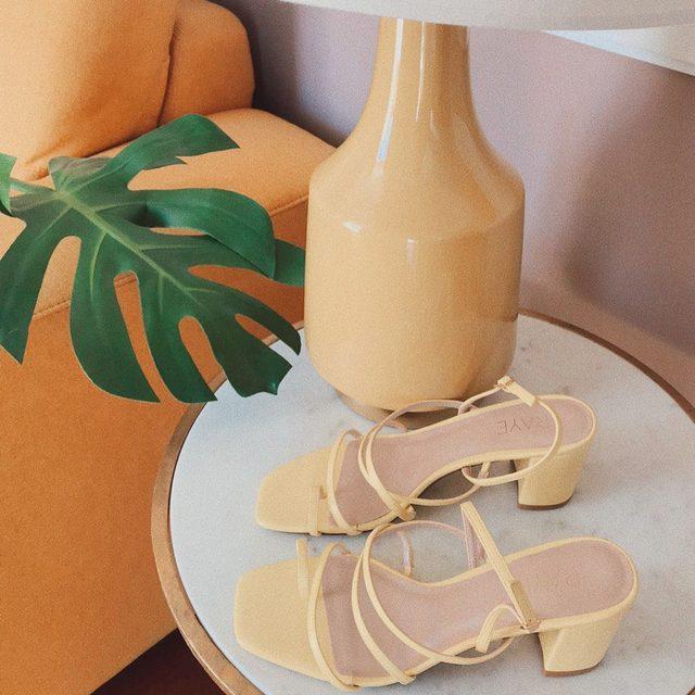 The perfect almost Summer heel. The Portland Heel. #rayeallday