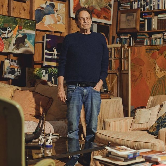 """David Milch, the creator of TV shows like """"NYPD Blue"""" and """"Deadwood,"""" has earned a reputation as one of the most intellectually fluent writers in the history of episodic television. Now, four years after being diagnosed with Alzheimer's, he can no longer remember the full trajectory of anything that he writes. """"I have disabused myself of any thought of a normal future,"""" Milch says. """"But I allow myself a provisional optimism about the possibilities of what time I will be allowed."""" Tap the link in our bio to read about Milch's long and successful career, and his efforts to keep working despite the indignities of Alzheimer's disease. Photograph by @ryanpfluger."""