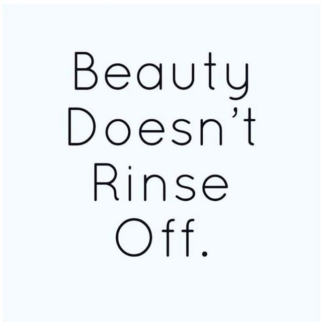 Facts.  #repost @anniechiumd  #beauty #quotes #beautyquote #beautifulinsideandout #realbeauty