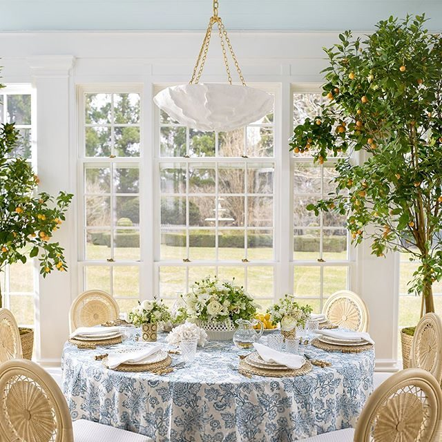 Our Paulette Tabletop Collection is perfect for summer entertaining. Looking forward to hosting throughout the season with these beautiful pieces. Link in bio to shop now #AERINhome