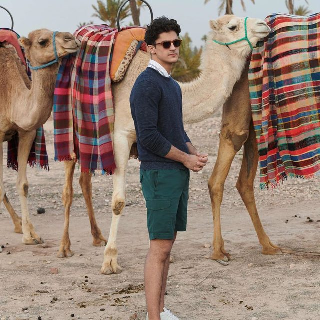 Go #BTS with us (and these camels) on Stories.