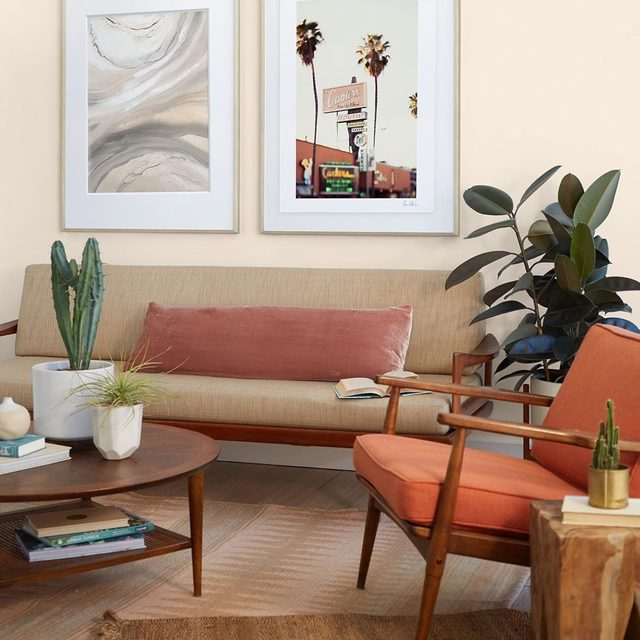 Your everyday house, transformed and ready for summer with our latest collection of warm, vacation-inspired art prints. #MintedArt by @tguererra + @vera__mladenovic.