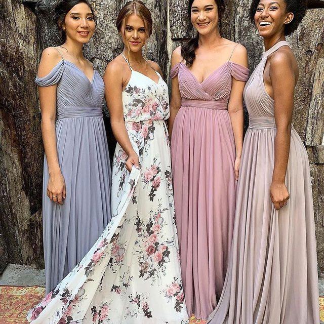 The perfect weekend in the perfect #bridesmaiddresses ✨ | #Kleinfeldxtulum @kleinfeldbridalparty