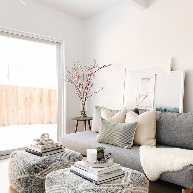 Living for this room refresh from @greyandscout. #MintedArt by @katehoulihanphotography.